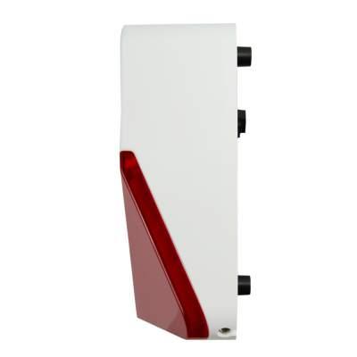 coqon SIRENZ01 Alarmsirene für aussen inkl. Blitzleuchte, Z-Wave - 1