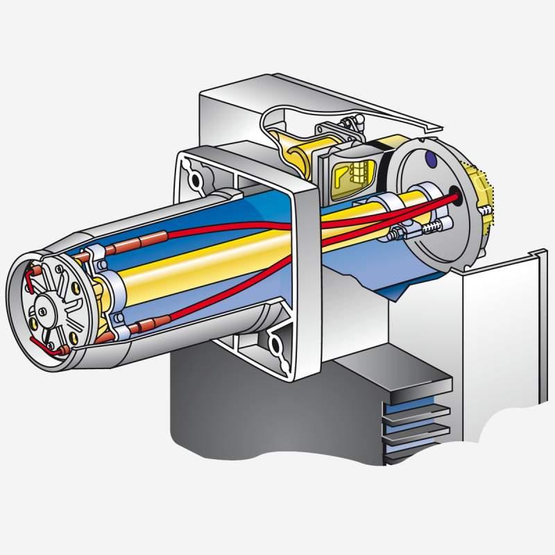 Gasbrenner WG10N/1-D ZM-LN Armaturen R3/4, W-MF 507, 25-110 kW - 3