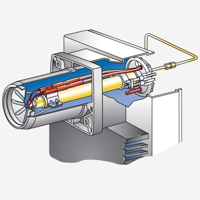 Ölbrenner WL10/3-D Z mit Stellantrieb, 50-100 kW - 3