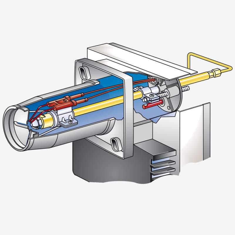 Ölbrenner WL5/1-B mit Stellantrieb, 21,5-40 kW - 3