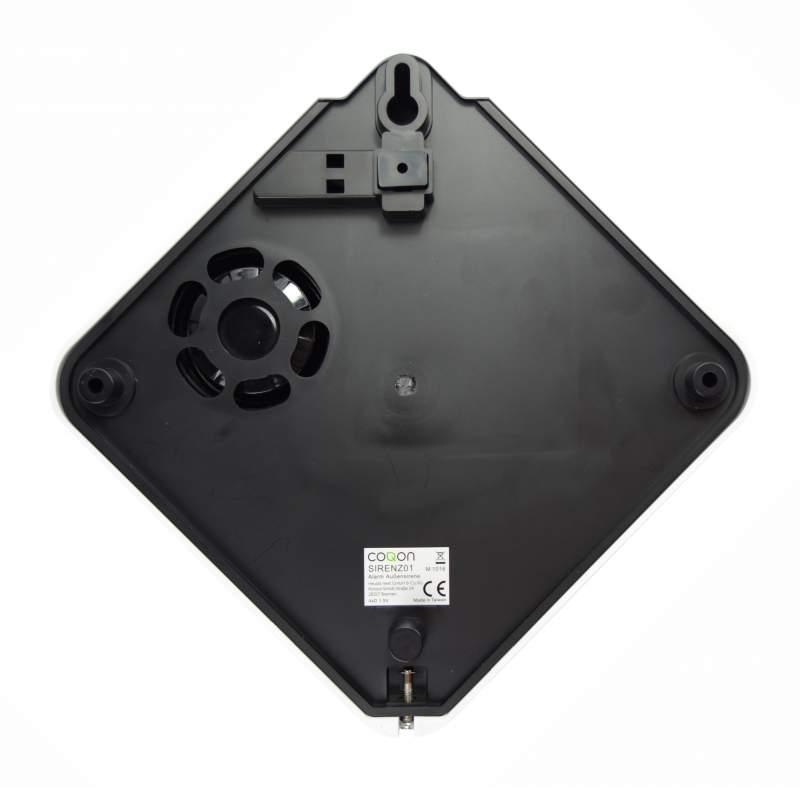 coqon SIRENZ01 Alarmsirene für aussen inkl. Blitzleuchte, Z-Wave - 2