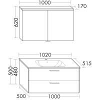 brausegarnitur one m stange 90 cm schlauch u handbr 1 fach verchr vigour meinbad g. Black Bedroom Furniture Sets. Home Design Ideas
